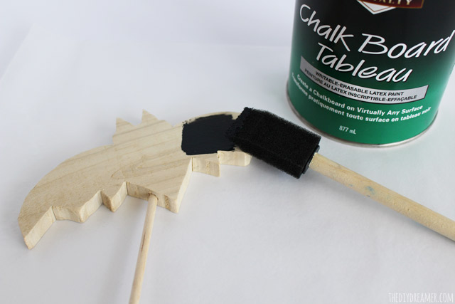 How to paint with chalkboard paint