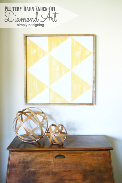 Pottery Barn Knock-Off Diamond Art