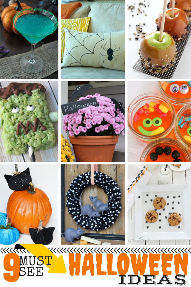 9 MUST SEE Halloween Ideas!! Halloween Crafts and Recipes!!!