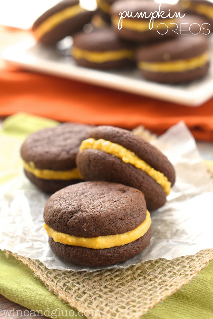Pumpkin Oreos - Recipe