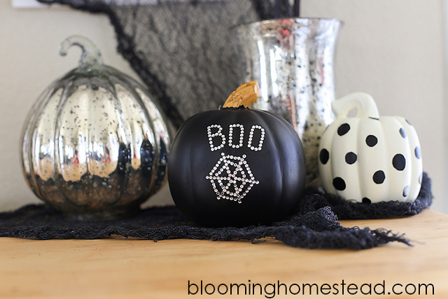 DIY Embellished Pumpkins