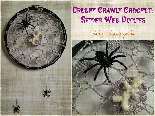 Creepy Crawly Crochet: Spider Web Doilies