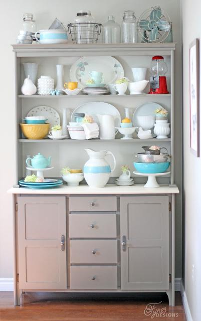 Modern Farmhouse Kitchen Ideas - Beautiful Hutch