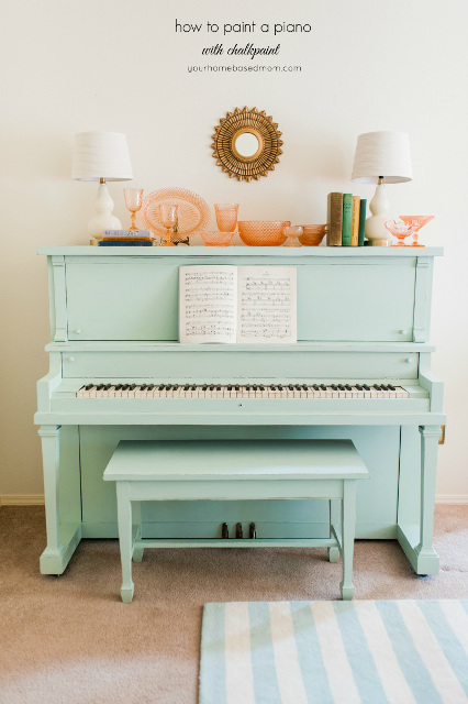 How to paint a Piano - Beautiful Creations!