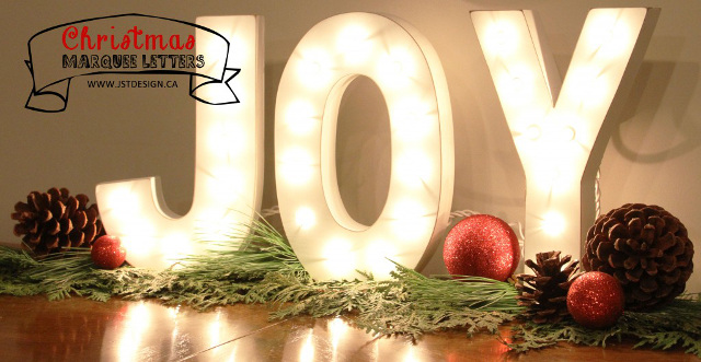 Christmas Marquee Letters