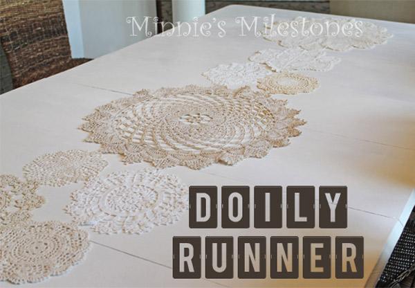 Doily Table Runner