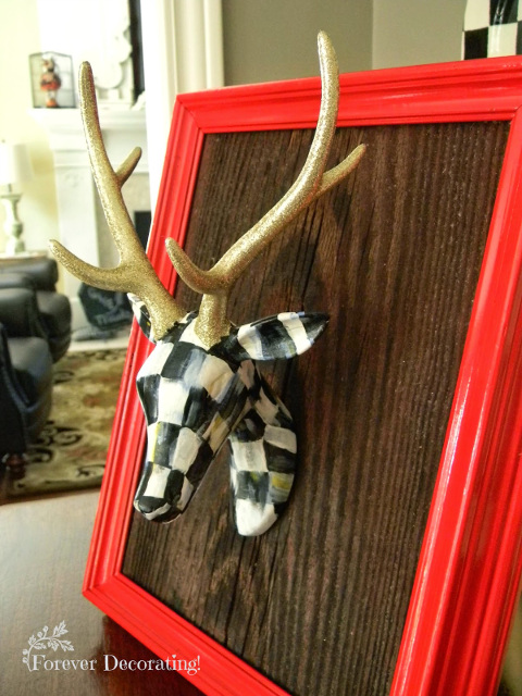 MacKenzie Childs Inspired Christmas Deer