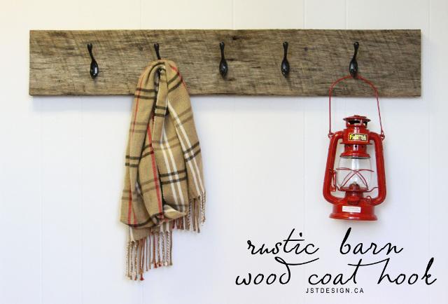 Barn Wood Coat Hook