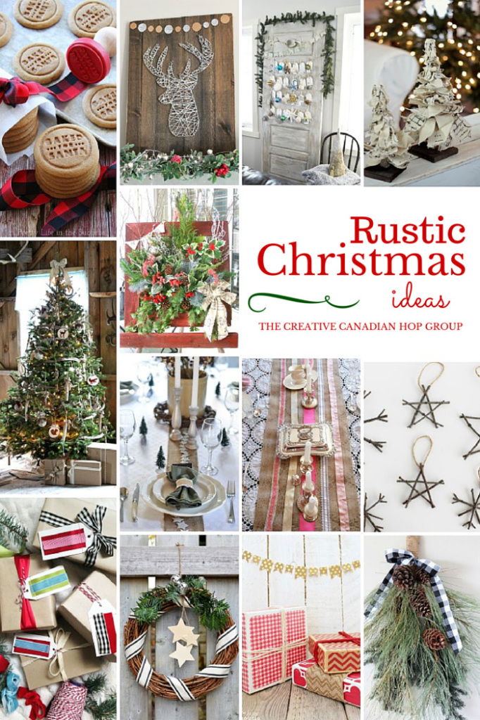 Rustic Christmas Ideas - A collection of FABULOUS Rustic Christmas decor ideas! You MUST check it out!