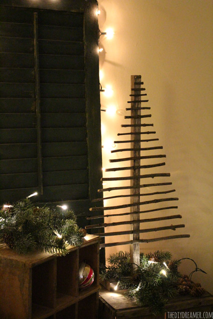 Twig Trees For Christmas
