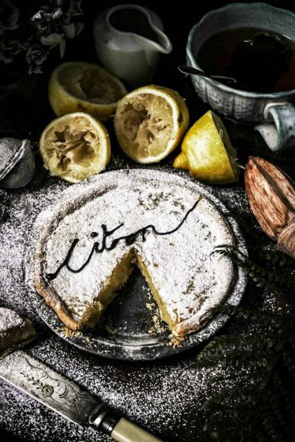 Tarte aux citons (Lemon Pie)