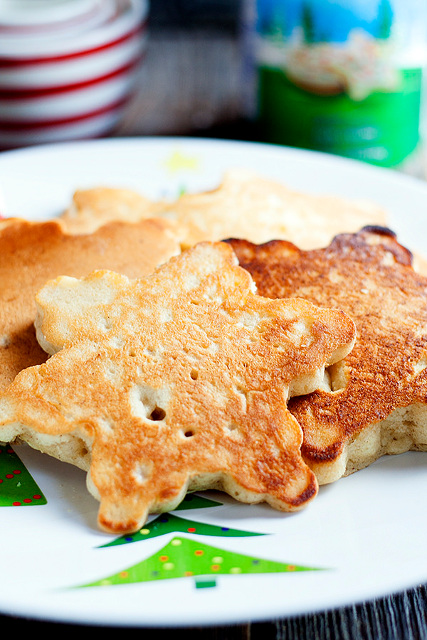 Frosted Sugar Cookie Pancakes