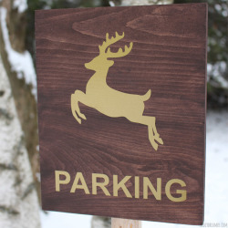 Reindeer-Parking-Feature