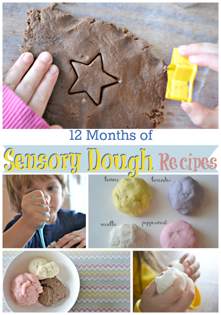12 Months of Sensory Dough Recipes