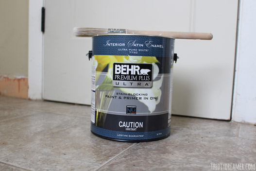 BEHR PREMIUM PLUS ULTRA Interior Satin Enamel - Ultra Pure White