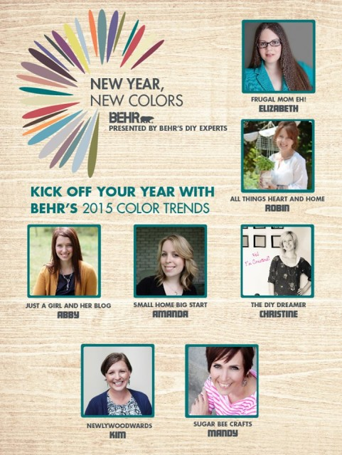 New Year, New Colors - BEHR's 2015 Color Trends