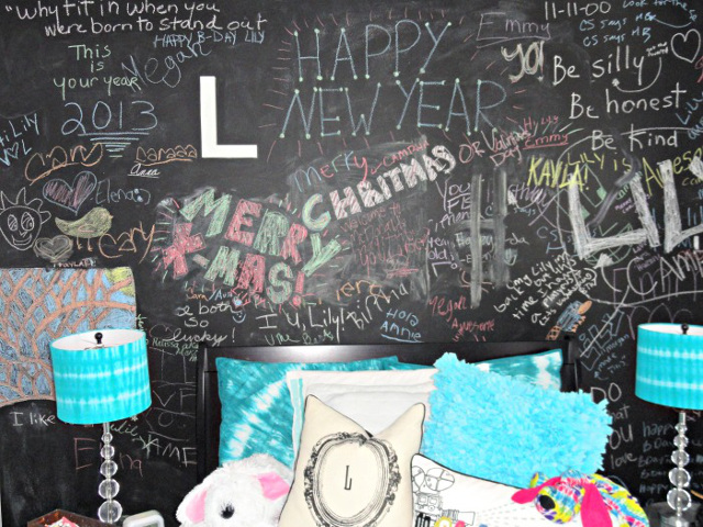 Chalkboard Paint for Tween/Teen's Bedroom