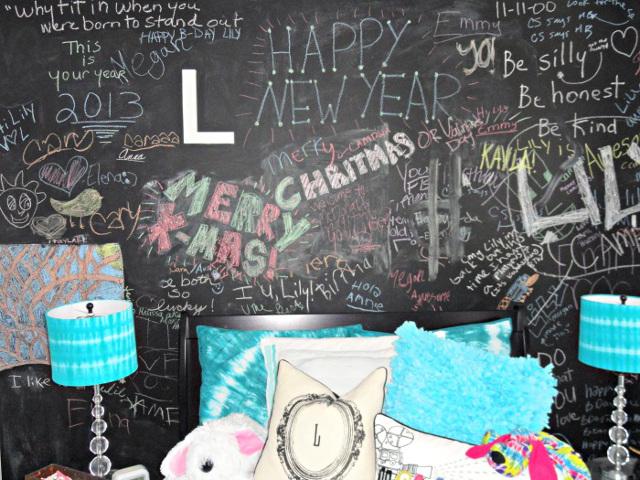 Chalkboard Paint for Tween/Teen's Bedroom