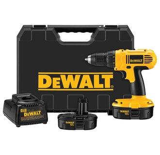 "DEWALT DC970K-2  18V 1/2"" Compact Drill Driver Kit"