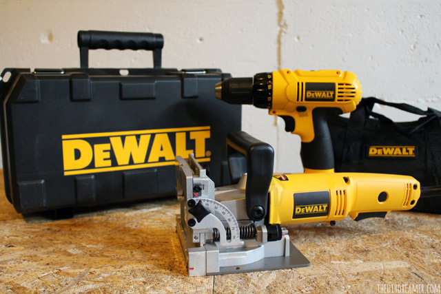 My very own tools! DEWALT Tools from Build.com