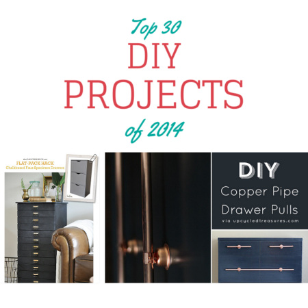 Top 30 DIY Projects of 2014 with tutorials