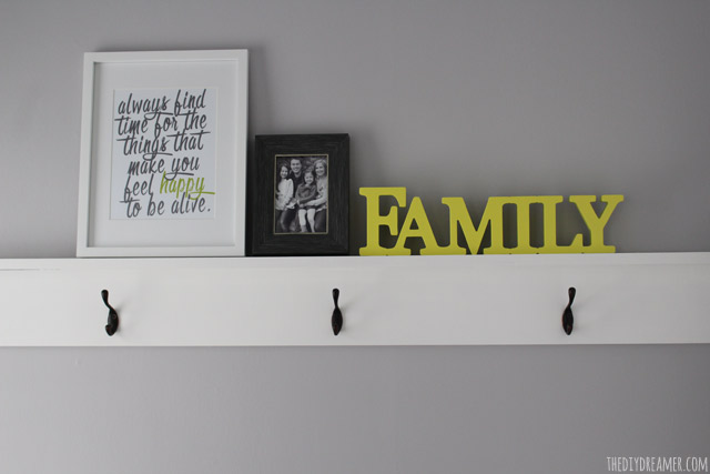 DIY Decorative Shelving