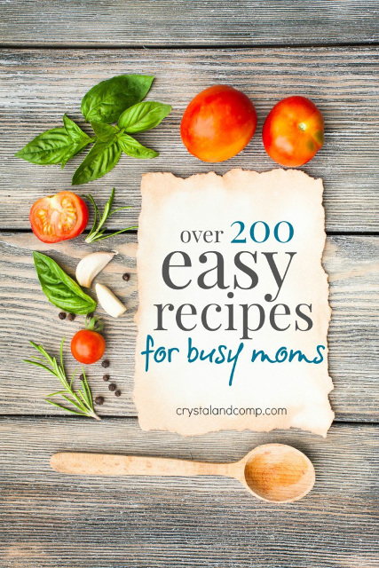 Over 200 Easy Recipes for Busy Moms