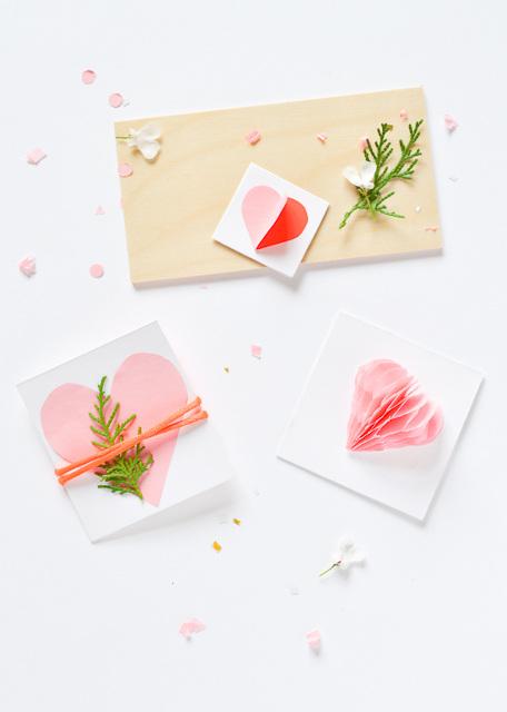 3 DIY Valentine's Day Cards