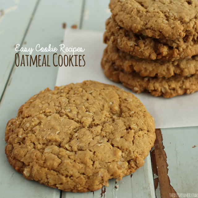 Easy Chewy Oatmeal Cookies This Cookie Recipe Is Absolutely Delicious And To Make