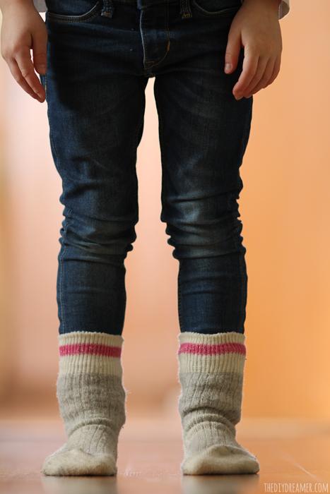 Emanuelle's Favorite Things - Socks over her pants! Socks over pants is cool!