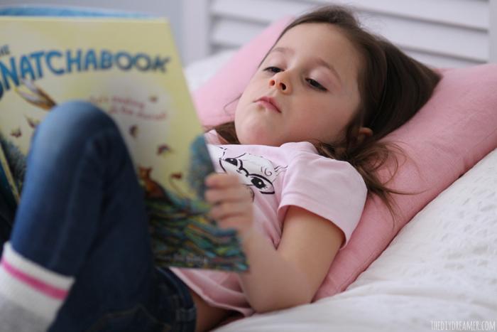 Reading books is fun!