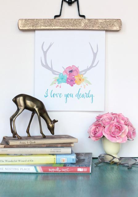 I Love You Dearly Valentine Printable