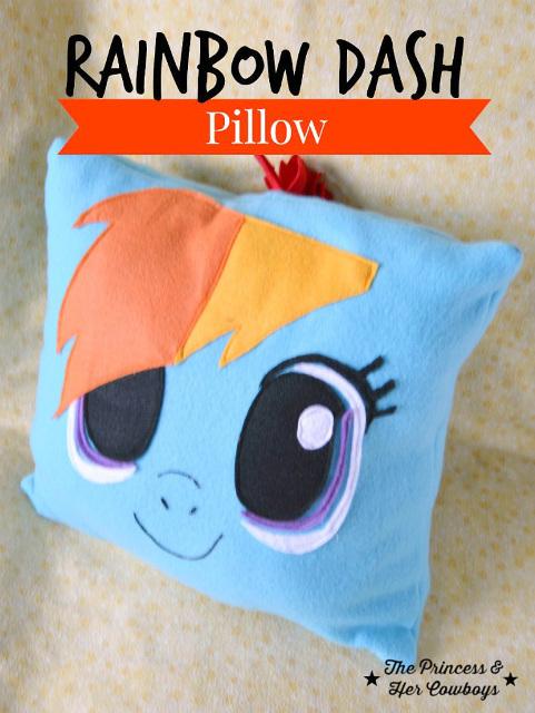 Rainbow Dash Pillow