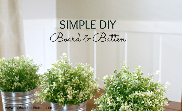 Simply DIY Board and Batten