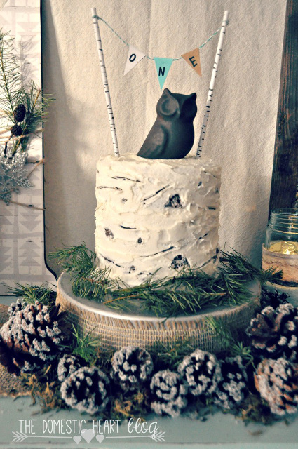 Winter Woodland Birthday Party