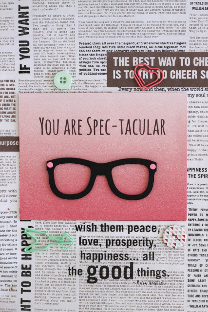 You are Spec-tacular Card for Valentine's Day!