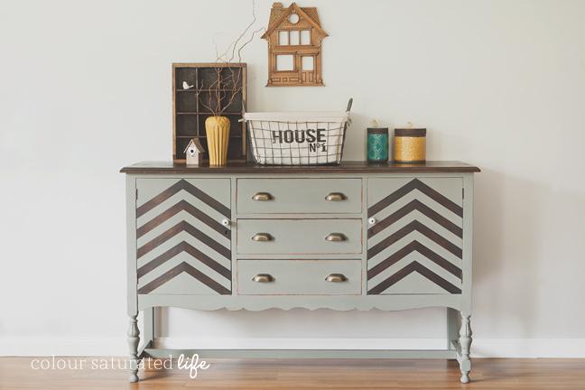 Furniture Makeover: Trophy Sideboard