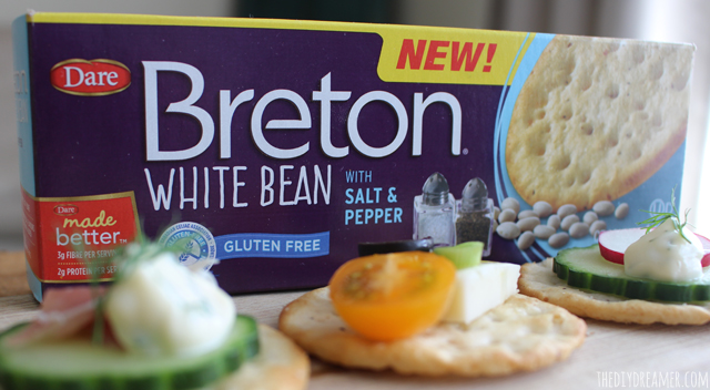 Breton White Bean with Salt and Pepper. Delicious crackers with beans as the #1 ingredient!