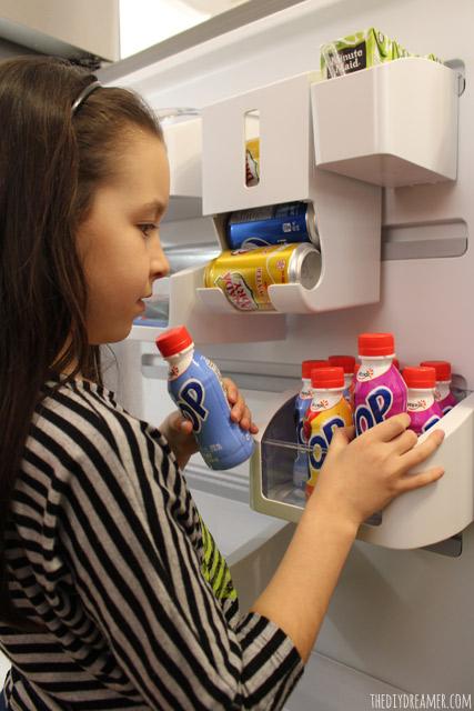 Customizing your fridge door