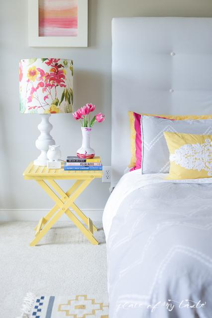 DIY Lamp Shade. Beautiful floral design!