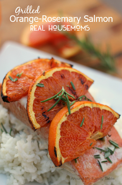 Grilled Orange-Rosemary Salmon