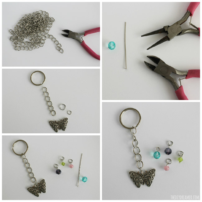 Learn how to make a keychain. Making custom keychains is very simple.