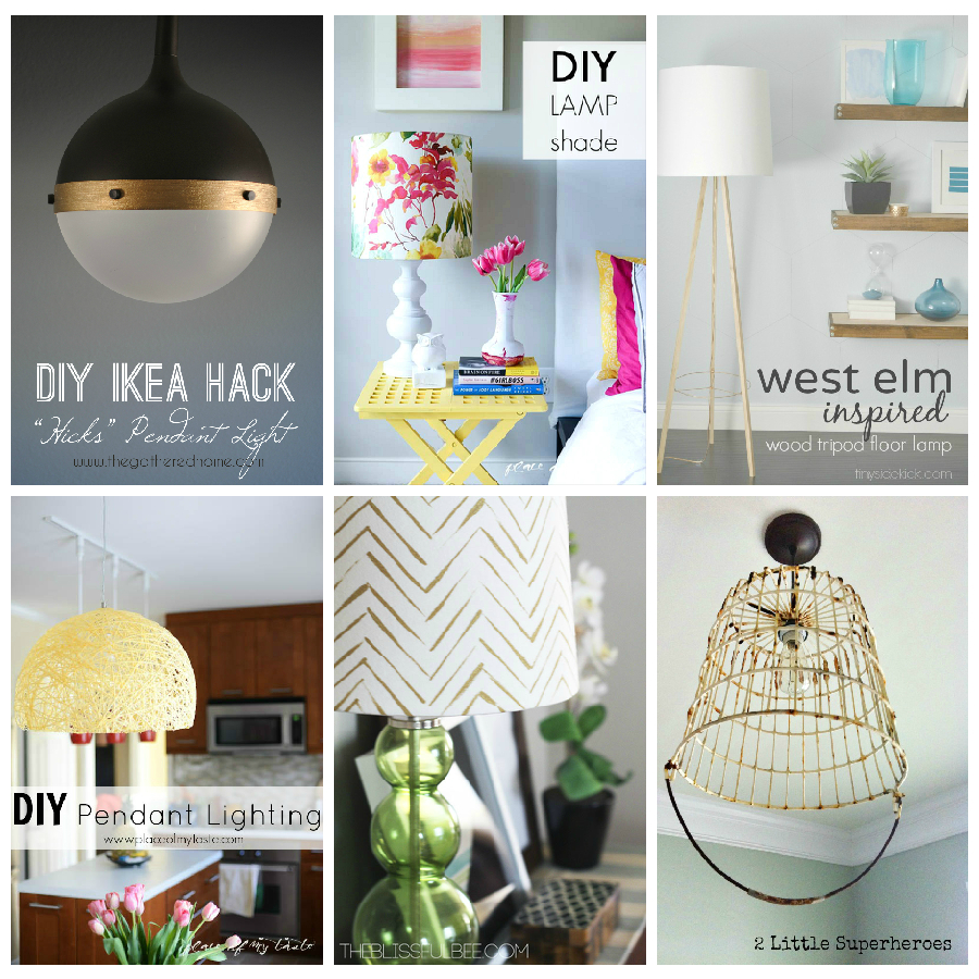 20 diy lighting ideas light fixtures lamps and more aloadofball Image collections