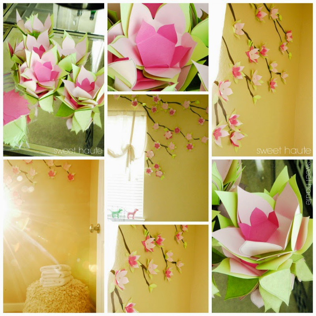 Cherry Blossom Accent Wall Decoration