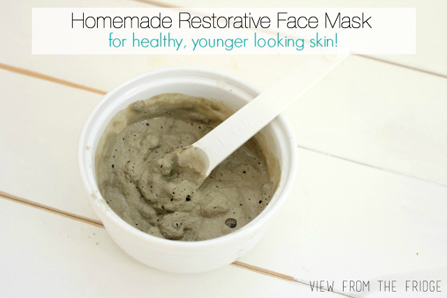 Homemade Restorative Face Mask
