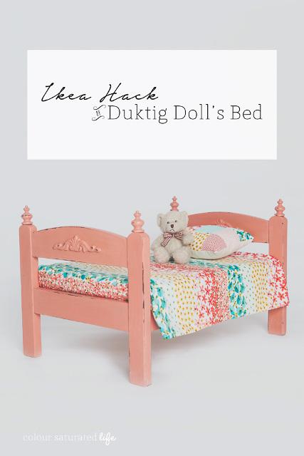 Ikea Hack Duktig Doll's Bed
