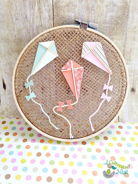 Kite Hoop Art