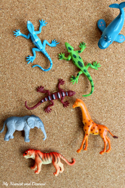 DIY Animal Thumb Tacks