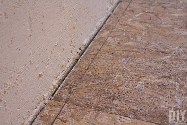 DRIcore Subfloor flooring