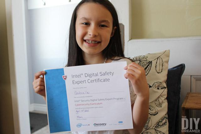 Intel Digital Safety Expert Certificate